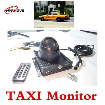 4CH Car DVR taxi monitor camera ahd HD video recorder language operating interface 1266